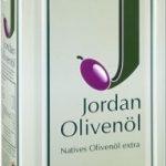 Jordan Olivenöl nativ extra 1000 ml aus Griechenland Lesbos