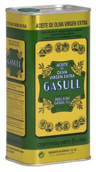 Olis Gasull Oli dí Oliva verge extra 5000ml Die Dose