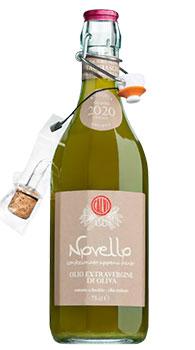 Olio Novello </br> extra vergine di Taggiasca 750ml