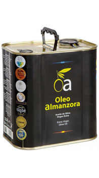 Oa Oleoalmanzora </br> Natives Olivenöl Extra 2500ml